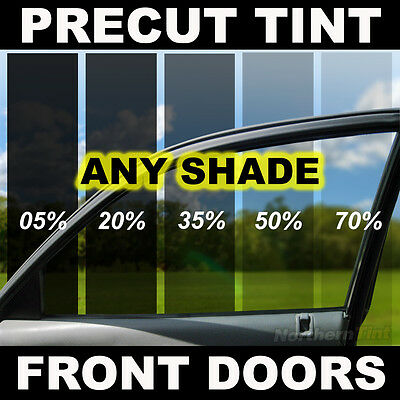 PreCut Window Film for Chevy Corvette Convert. 05-11 Front Doors any Tint Shade