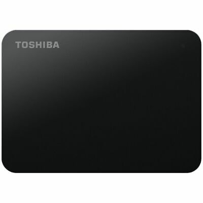 Toshiba 2TB Canvio Basics Portable Hard Drive Black
