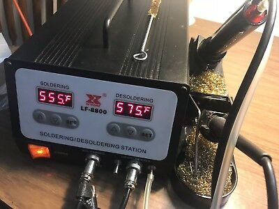 Xytronic LF-8800 High Powered Soldering / Desoldering Station
