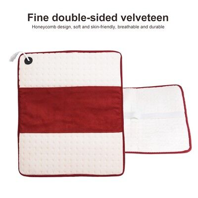 ELECTRIC HEAT PAD SOOTHING RELIEF MUSCLE TENSION BACK pain relief HeatPad Tool