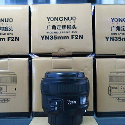 Yongnuo 50mm F1.8 1:1.8 Prime Auto Objetivo Manual Af Mf para Nikon &35mm /40mm