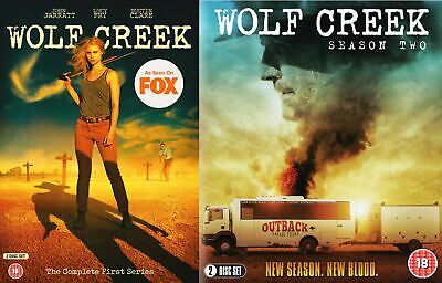 Wolf Creek Season 1 2 Series One Two First Second New Region 2 DVD