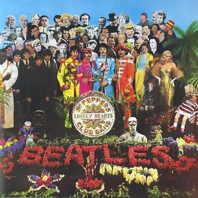 Beatles Sgt Peppers Lonely Hearts Club Band Vinyl LP New 2017 (UK)