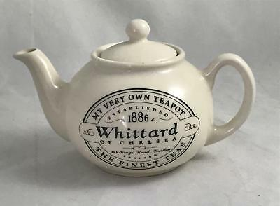 Whittard of Chelsea My Very Own Teapot 10cm Pot for One