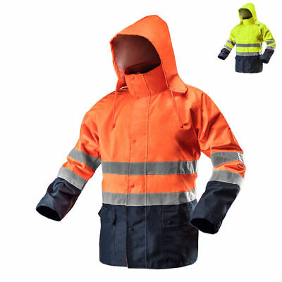 Protection Visibility Jacket Rain Warning Work Hazard en 20471 S-XXXL