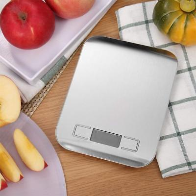 5kg/1lb Digital Multifunction Stainless Steel Kitchen Food Scale US Stock