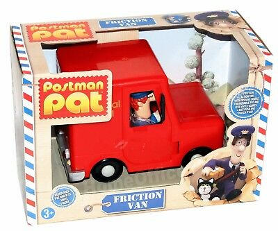 Postman Pat Toy Friction Van Vehicle With Pat & Jess Figure BRAND NEW BOXED