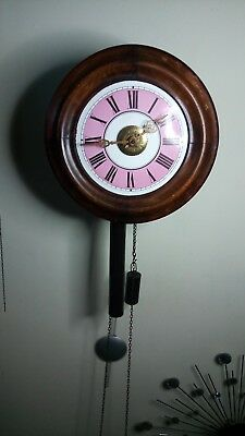 postmans wall clock