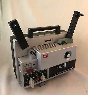ELMO ST-600 2-Track Super 8mm Sound Projector Boxed with Accessories