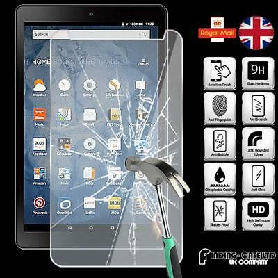 Tempered Glass Screen Protector For Amazon Fire HD 8  (2018) with alexa