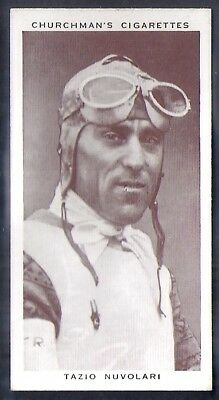 Churchman-Kings Of Speed-#21- Motor Racing - Tazio Nuvolari