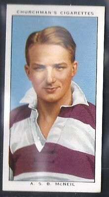 Churchman-Rugby Internationals-#28- Watsonians - Mcneil