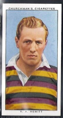 Churchman-Rugby Internationals-#44- Instonians - Hewitt