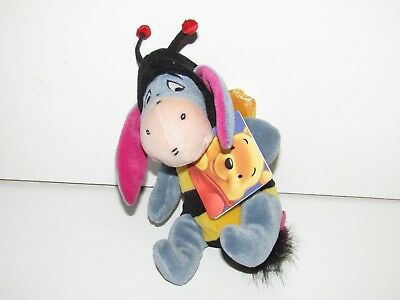 Disney Winnie the Pooh plush soft toy - Eeyore bee costume beanbag new with tag
