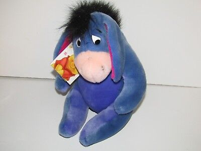 "Disney Winnie the Pooh plush soft toy 11"" Eeyore the donkey new with tag"