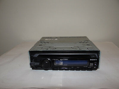 sony xplod cdx-gt09 cd player/mp3/wma in dash receiver 45w x