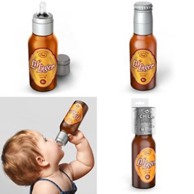 BABY Lil/' Lager Baby Bottle Fred CHILL
