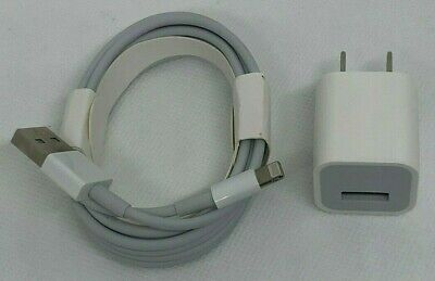 OEM Original Wall Charger 5W and 2m Lightning Cable for Apple iPhone 8 7 Plus 6