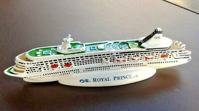 Vintage 1990's Princess Cruise Line ~ Royal Princess Cruise Ship Model ~ NEW