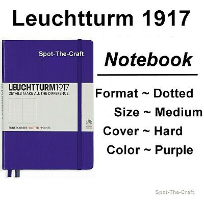 Leuchtturm1917 - Dotted Journal / Notebook - Medium A5 - Purple