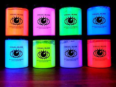 Qualità Superiore Fluorescente Luminoso UV Colore Pigmento Luce Nera UV Pittura