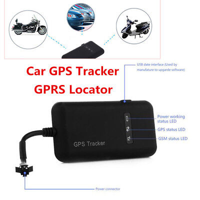 Motorcycle Global Real Time Tracking Device GPS Tracker GSM GPRS Locator System