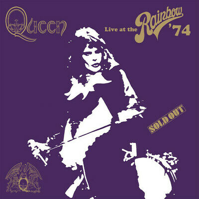 Queen Live At The Rainbow 40th anny super deluxe 2 CD / DVD / Blu-ray box set NE