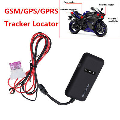 Mini Vehicle Bike Motorcycle Car GPS/GSM/GPRS Safety Real Time Tracker Locator