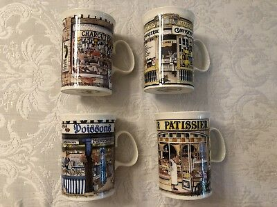 New Dunoon Storefronts Shops Stoneware Coffee Tea Cups Mugs