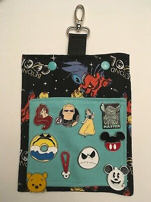 Alien Stitch! Hip Lanyard and Bag for Pin Trading at the Disney Parks! Must See!