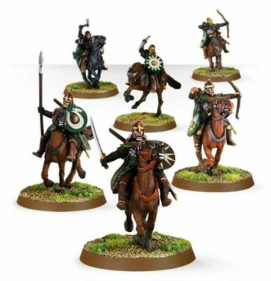 6 Riders of Rohan Lord of the Rings Middle Earth GW LotR