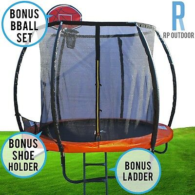 NEW Trampoline Ladder Spring Mat Net Safety Pad Cover Round 8ft/10ft/12ft/16ft