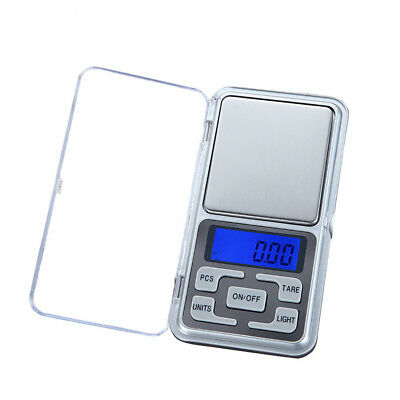 Pocket Digital Scale Jewellery Gold Weight Mini Electronic Weigh 0.01g 200g W-
