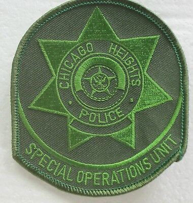 Chicago Heights Special Ops Unit