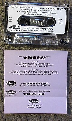 """Thomas Newman """"unstrung Heroes"""" 1995 Hollywood Records Advance Promo Ost Tape!"""
