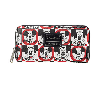 Disney Parks Mickey Mouse Club Wallet By Loungefly