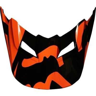 Fox Racing MX Spare Parts Mx18 V1 Helmet Visor-Race Orange 2XS/S 21302