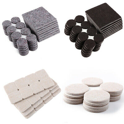4mm Thick Laminate Wood Floor Furniture Protector Felt Pads Multi Sizes