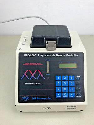 MJ Research Programmable Thermal Controller PTC-100, w/ 96-Place Microplate