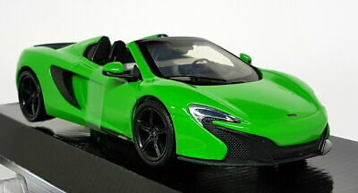 Motormax 1/24 Scale 79326 McLaren 650S Spider metallic green Diecast model car