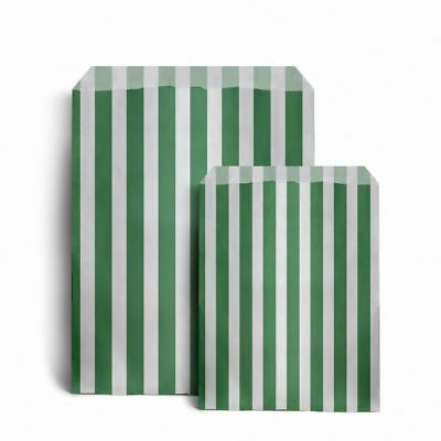 "Candy Stripe Paper Bags - 5"" x 7"""