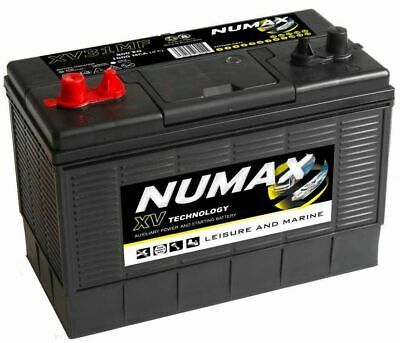 Numax XV31MF Heavy Duty Leisure Caravan Marine Boat Battery 12v 105 Ah