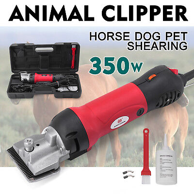 Horse Animal Cordless PET DOG CAT Shearing Trimmer Shaver Clipper Hair Remover