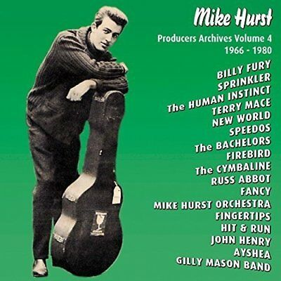 Mike Hurst - Producers Archives Vol. 4 1966-1980 (2016)  CD  NEW  SPEEDYPOST