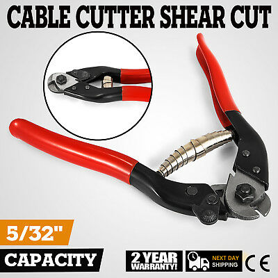 """8"""" Steel Wire Cutter Cable Rope High Leverage Cut 10mm NEW"""