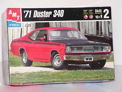 Amt #8437 1/25 1971 Plymouth Duster 340  Open