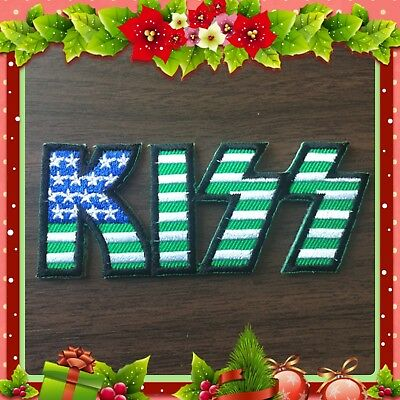 🇨🇦 KISS Patch Embroidered Sew On/stick On Clothing/new 🇨🇦 #1