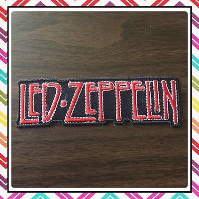 🇨🇦 Led Zeppelin Logo Embroidered Patch  Sew On/stick On Clothing/new 🇨🇦 #55