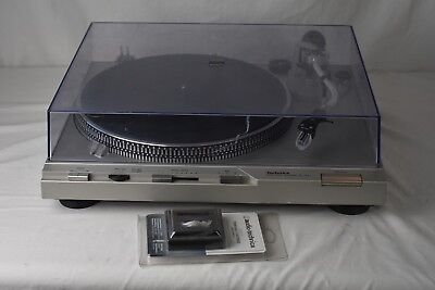 Vintage Technics SL-D3 Automatic Direct Drive Turntable Record Player NEW Cartge