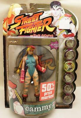NIB-Cammy-1999 Capcom Street Fighter Action Figures Round One-Street Fighter II